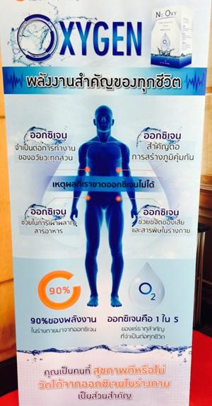 Nu Oxy เพื่อเติมออกซิเจนให้กับร่างกาย