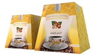 กาแฟลดความอ้วน Nutrinal Coffee รสฮาเซลนัท