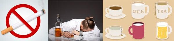 บุหรี่ ชา กาแฟ น้ำอัดลม ขัดขวางการทำงานของแคลเซียม