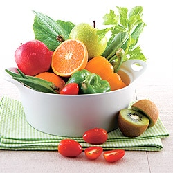 ทานผักผลไม้เพื่อแก้อาการท้องผูก