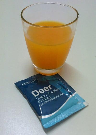 อาหารเสริมแคลเซียม Deer ช่วยเสริมแคลเซียม บำรุงกระดูกและข้อ