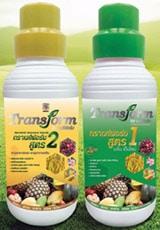 ทรานส์ฟอร์ม ธาตุอาหารพืช ปุ๋ยทางใบ เสริมด้วย ไคโตซาน