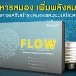 อาหารเสริมบำรุงสมอง FLOW (โฟลว์)
