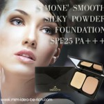 แป้งผสมรองพื้น S Mone' Smooth Silky Powder Foundation SPF 25 PA+++