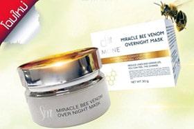 เปิดตัวโฉมใหม่ของครีมพิษผึ้ง miracle bee venom overnight mask