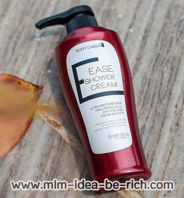 ครีมอาบน้ำอีเซ่ Ease shower cream เพื่อผิวขาว บำรุงผิวนุ่มชุ่มชื่น
