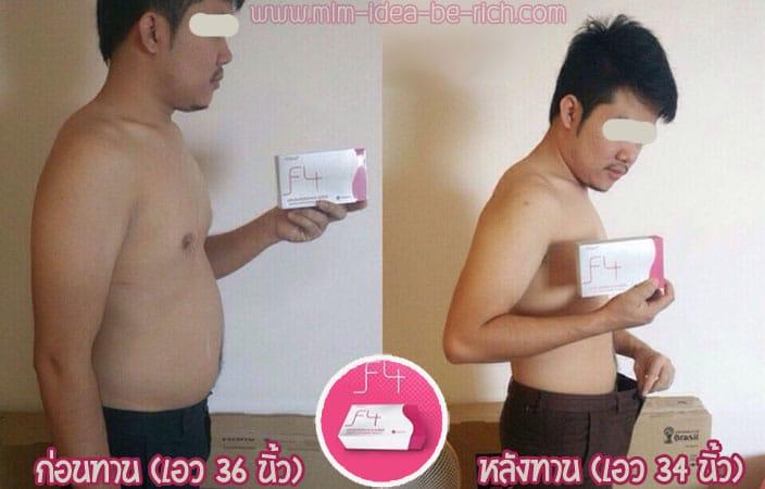 วิธีลดความอ้วนด้วยอาหารเสริมลดน้ำหนัก F4