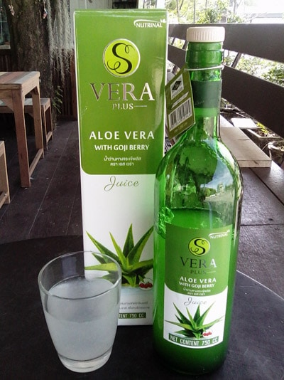 รีวิวน้ำว่านหางจระเข้ S Vera Plus รักษาโรคกรดไหลย้อน และ โรคกระเพาะ