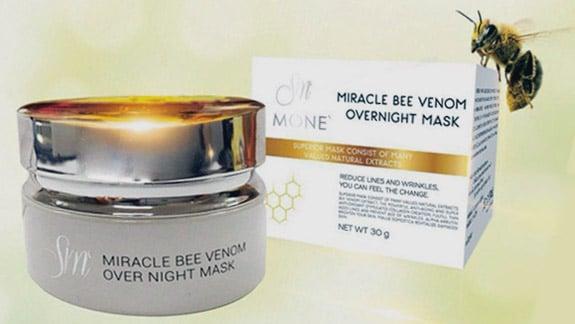 ครีมพิษผึ้ง Miracle Bee Venom เพื่อผิวหน้าเด้ง ใส เนียนนุ่ม