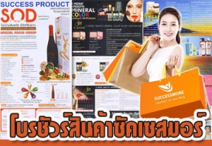 Brochure สินค้าซัคเซสมอร์ ปี 2560