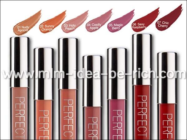 ลิปสติกติดทน เนื้อแมท กันน้ำ SMone' Perfect Matte lipstick