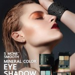 อายแชโดว์ S Mone' Smooth Mineral Color Eye Shadow