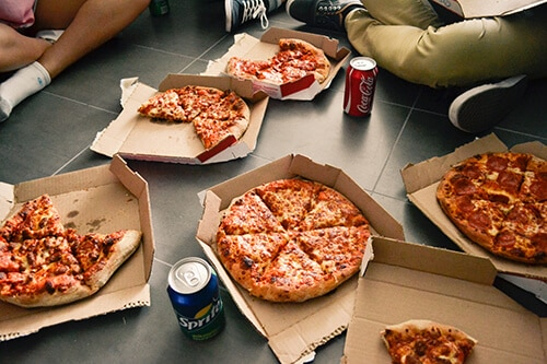 การทานอาหารฟาสต์ฟูดส์ส่งผลเสียต่อสุขภาพ