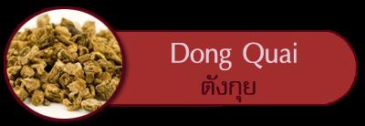 สมุนไพรตังกุย dongquai