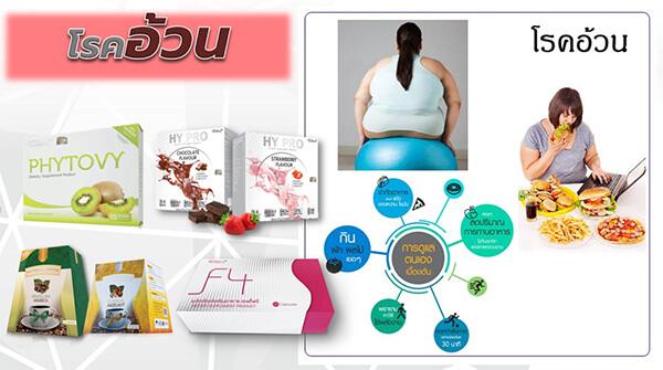 อาหารเสริมแก้โรคอ้วน