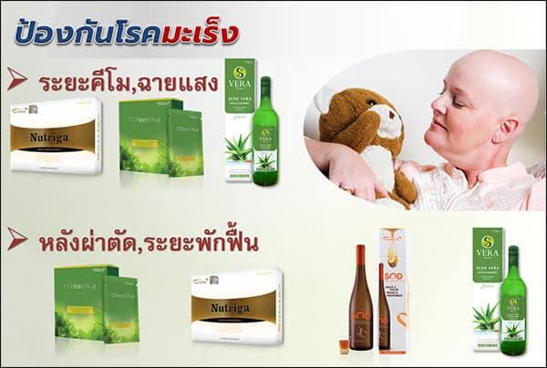 ผลิตภัณฑ์เสริมอาหารป้องกันโรคมะเร็ง