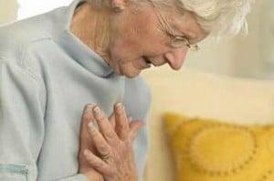 หัวใจขาดเลือด โรคหัวใจขาดเลือด อาการของโรคหัวใจ เจ็บหน้าอก