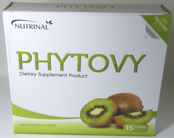 ผลิตภัณฑ์เสริมอาหารไฟโตวี่ detox ลำไส้