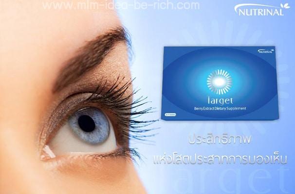 อาหารเสริมบำรุงสายตา Target การดูแลสายตา