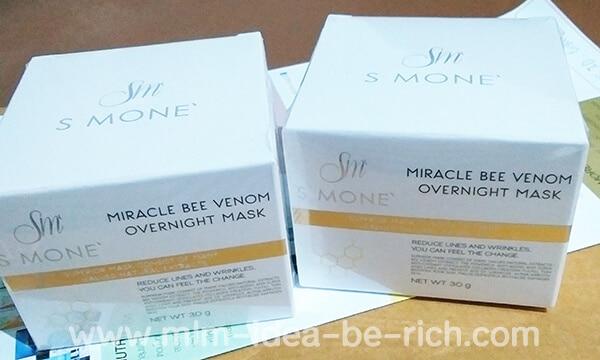 ครีมมาร์คพิษผึ้ง Miracle Bee Venom Overnight Mask