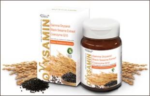 น้ำมันรำข้าว Orysamin ผสานงาดำและโคเอนไซม์คิวเทน
