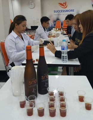 เครื่องดื่มเอนไซม์ SOD น้ำหมักผลไม้เพื่อสุขภาพ