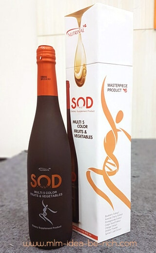 เครื่องดื่มเอนไซม์-SOD-ต้านอนุมูลอิสระ