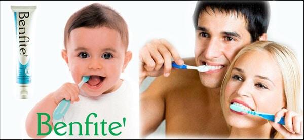 ยาสีฟันที่ดี่ที่สุด ด้วยสูตรอ่อนโยน SLS Free และไม่มีฟลูออไรด์ ยาสีฟันเบนฟิตเต้ Benfite