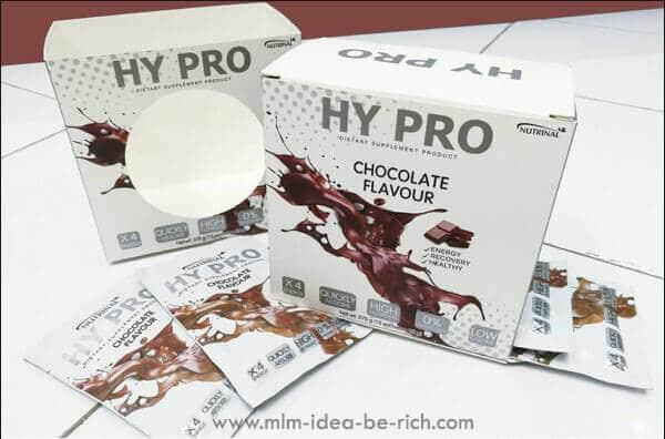 อาหารเสริมโปรตีนไฮโปร HyPro รสช็อกโกแลต