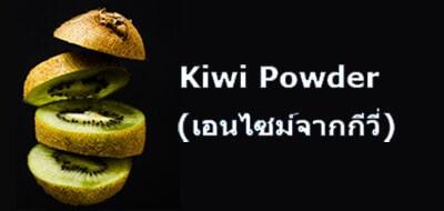 Kiwi Powder (เอนไซม์จากกีวี่)