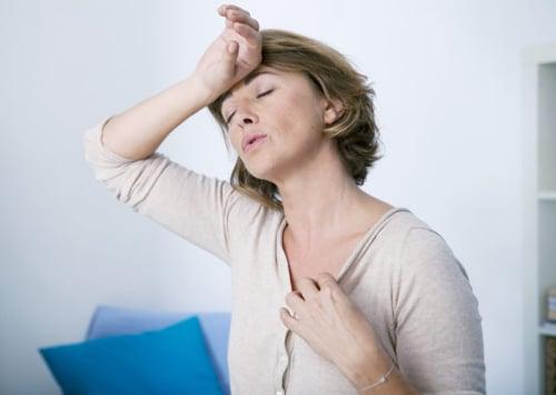 อาการร้อนวูบวาบของหญิงวัยทองแก้ได้