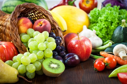 ผักผลไม้สด มีเอนไซม์ที่จำเป็นต่อร่างกายมากที่สุด