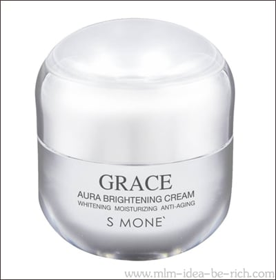 ครีมหน้าใสเกรซออร่า Grace Aura Cream ครีมหน้าขาวที่ดีที่สุด