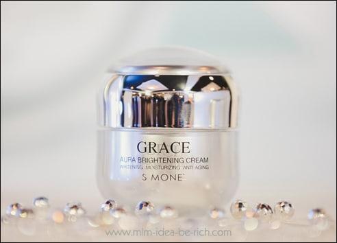 ครีมหน้าขาวใส เกรซออร่า grace aura cream