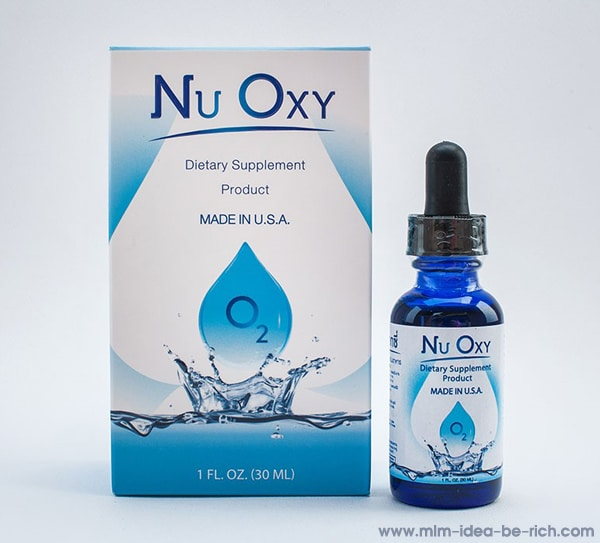 อาหารเสริมต้านอนุมูลอิสระ เติมอ๊อกซิเจน nu oxy