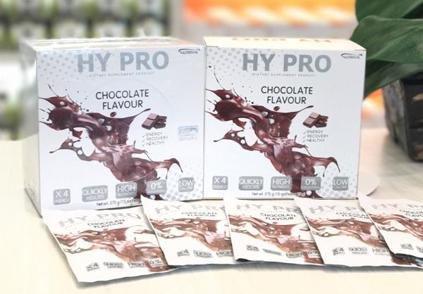 โปรตีนเสริมไฮโปร รสช็อกโกแลต hypro chocolate flavour