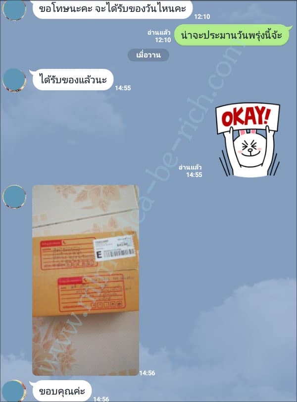 รีวิวจัดส่งของผ่านระบบไปรษณีย์แบบ EMS