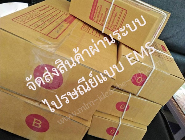 จัดส่งสินค้าผ่านระบบไปรษณีย์แบบ EMS