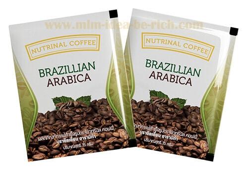 กาแฟลดน้ำหนัก ลดพุง nutrinal coffee