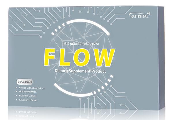 อาหารเสริมบำรุงสมอง FLOW ของบริษัทซัคเซสมอร์