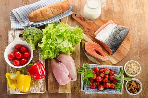 กินเพื่อสุขภาพด้วยอาหารครบหมู่และมีประโยชน์