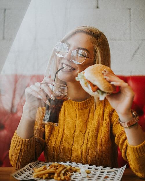 การกินตามแบบคนตะวันตก ทำให้เป็นโรคเรื้อรัง