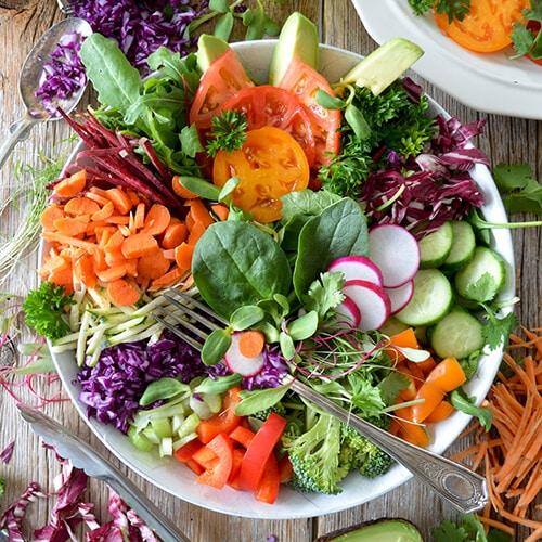 ผักผลไม้ดีต่อสุขภาพและควรทานให้หลากหลาย