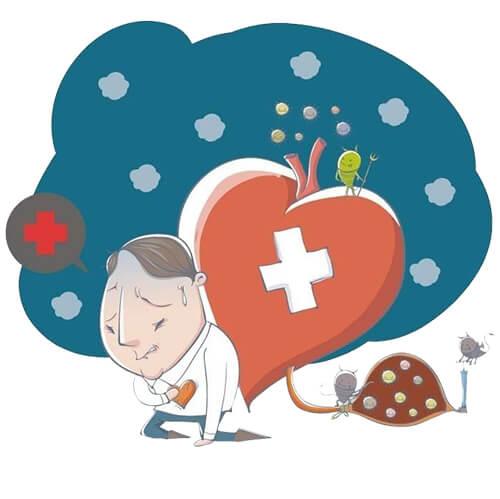 อาการเจ็บหน้าอกเนื่องจากเส้นเลือดหัวใจอุดตัน