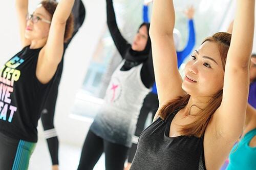 การออกกำลังกายส่งผลดีต่อร่างกาย
