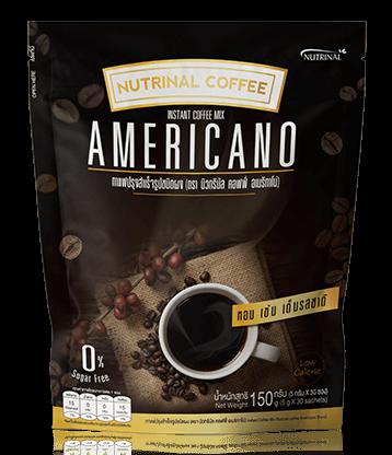 กาแฟอเมริกาโน่ กาแฟดำเพื่อสุขภาพ Nutrinal Coffee Americano ของบริษัทซัคเซสมอร์