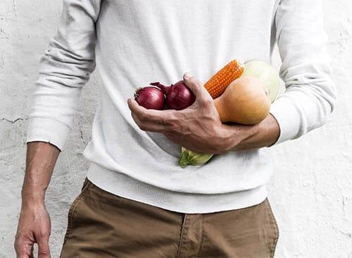 ผักและผลไม้ที่ปลูกเอง ไร้สารเคมี เพื่อให้ไร้โรค