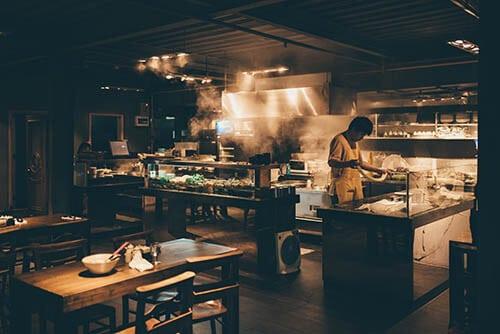 ความสะอาดของห้องครัวในร้านอาหารเป็นสิ่งสำคัญต่อผู้บริโภค