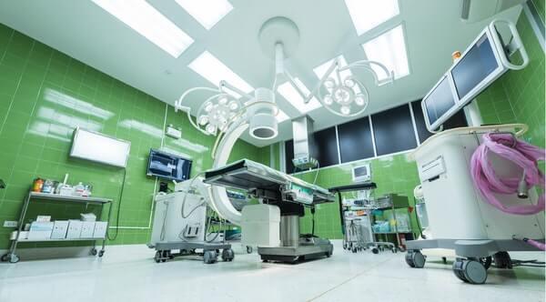 ห้องผ่าตัดภายในโรงพยาบาล