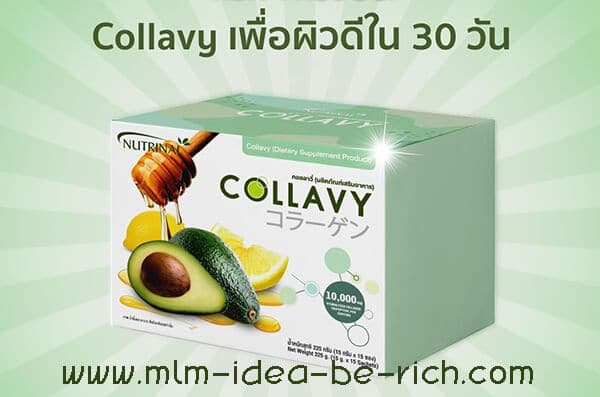 คอลลาวี่ Collavy เพื่อผิวดีใน 30 วัน